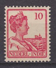 Nederlands Indie Netherlands Indies Indonesia 115 MLH Wilhelmina 1913 NO GUM