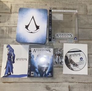 Assassin's Creed  Limited Edition Tin (Sony PlayStation 3 PS3) COMPLETE - TESTED
