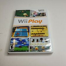 Wii Play Nintendo Wii Sports Game Complete! Free Shipping