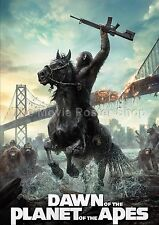 Dawn Of The Planet Of The Apes  2014 Movie Posters Classic Films
