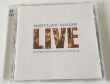MOTLEY CRUE LIVE ENTERTAINMENT OR DEATH 2 CD ALBUM OTTIMO SPED GRATIS + ACQUISTI