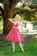 NWT PINUP GIRL CLOTHING RITA DRESS ROCKABILLY BOMBSHELL RED WHITE POLKA DOT XXL