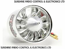 RC 77mm 12 Blade EDF Electric Ducted Fan Assembly 1600Kv 6S 2.3Kg Thrust New UK