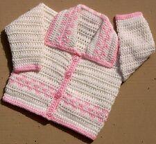 Veste babies-childrens motif crochet n ° 207 conçu par Kay Jones
