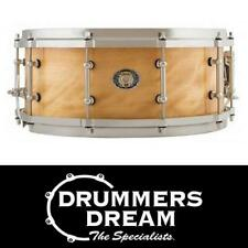 """Ludwig 14"""" x 5.5 Aged Exotic Avodire 110th Anniversary Snare Drum - LS405AVCX"""