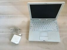 Apple iBook G4 Laptop 12 Inch Screen Working