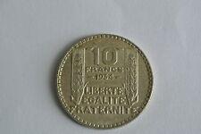 BEL ETAT 10 FRANCS TURIN 1934 monnaie toujours usée