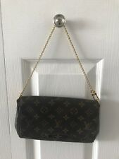 100% Authentic Louis Vuitton Monogram Favorite PM Bag/Crossbody Clutch