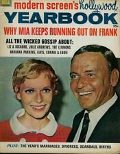 Frank Sinatra Julie Andrews Hayley Mills David Mccallum Mod Screen Yearbook 1968