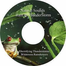 Rain & Thunderstorms 2 Tracks on 1 CD Relaxation Stress & Anxiety Relief