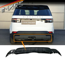 Black Rear Bumper Bar Diffuser Tow Cover for LAND ROVER DISCOVERY 5 L462 2017-20