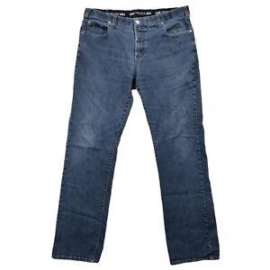 Lois Jeans Men Size 38 Jeans Medium Wash Blue Extensible Stretch 38x32 Denim
