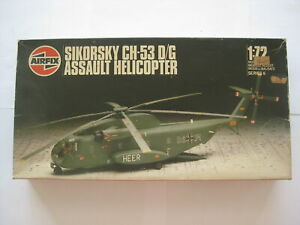 1 72 Model Helicopter SIKORSKY CH-53 D/G Airfix D10-1397