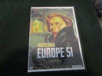 "DVD NEUF ""EUROPE 51"" Ingrid BERGMAN / Roberto ROSSELLINI"