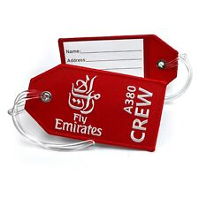 Emirates Airlines Embroidered Crew Tag