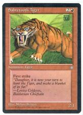 SABRETOOTH TIGER Ice Age MTG Single RED WOTC Magic:The Gathering Common