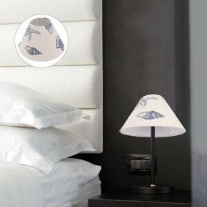 1Pc Home Lampshade Delicate Lampshade Cloth Light Cover for Home