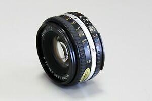 Nikon 1,8/50mm Serie E Pancake guter Zustand