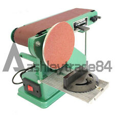 Desktop Multifunction Combination Sander Electric Belt Amp Disc Sander 220V