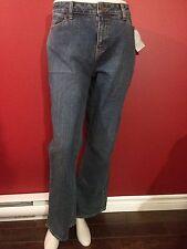 FASHION BUG Women's Blue Denim Secret Slimmer Jeans - Size 14 - NWT
