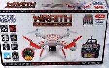 NEW World Tech Elite 33745 4.5-channel Wraith Spy Drone