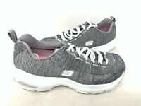 NEW! Skechers Women's D'LITES ULTRA MEDITATIVE Lace Up Shoes Gray #12294 167H tz
