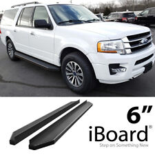 iBoard Black Running Boards Style Fit 07-17 Ford Expedition EL