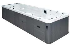 SwimSpa Aquatic 6 Passion Spas Swim Spa Hot Tub 7.8m x 2.29m Exercise Pool