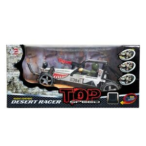 World Tech Top Speed Desert Racer Remote Control 1:16 Toy Vehicle Shark Silver