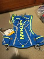 New Nathan VaporCloud Hydration Pack Vest Running Size S/M Color Electric Blue