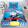 Blue Thomas Single/King Single Bed Quilt/Doona/Duvet Cover Set 100% Cotton New