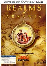 Realms of Arkania Blade of Destiny + Star Trail PC Mac Game