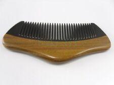 Natural Green Sandalwood & OX Horn Palm Comb Hair Beard Mustache Care Comb