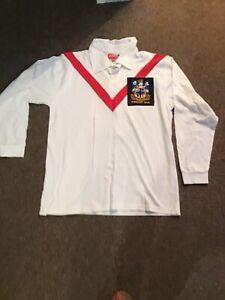 St Helens Adult XXL Rugby League Shirt Jersey Retro Saints 1966 Wembley Heroes