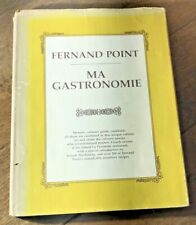 New listing Vg+ Fernand Point Ma Gastronomie Vintage French Cookbook 1974 1st English Ed Dj