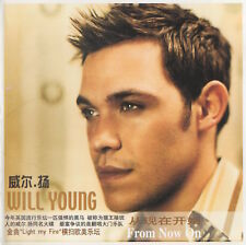 WILL YOUNG - FROM NOW ON + NICK CARTER BONUS TRACKS - RARE CD