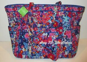 NWT VERA BRADLEY Get Carried Away Tote Handbag IMPRESSIONISTA