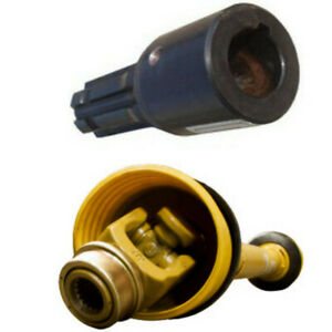 Winco PTO Splined Adapter #44804 (1-1/8 Keyed to 1-3/8) (6 Spline) (BRAND NEW)