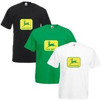 John Deere T-Shirt Classic Tractor Enthusiast Farming Etc VARIOUS SIZES