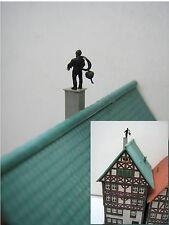 (SD01) Schornsteinfeger Glück Figur Spur Scale Gauge Z  (1:220) chimney sweep