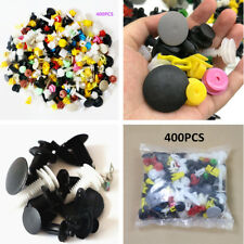 Mixed Car Bumper Clips Retainer Fastener Push Engine Cover Fender Clips 400PCS
