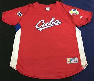 Cuba Baseball World Baseball Classic 2006 Majestic Jersey SizeXL