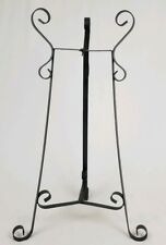 Vintage Victorian Wrought Iron Fishbowl​ Stand Flower Pot Holder French Antique