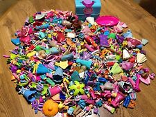 HUGE 7 POUNDS of Polly Pocket Disney Princess Doll Clothing  Accessories Lot
