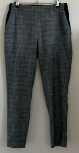 River Island Size 12 Ladies Smart Grey Trousers, Work Office Business