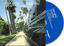 ALEX GOLD - L.A Today CD SINGLE 3TR House 2003 Benelux Cardsleeve