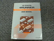 2005 Toyota 4Runner Electrical Wiring Diagram Service Manual SR5 Sport Limited