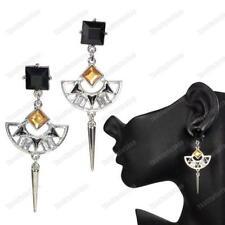 Rhinestone Chandelier Costume Earrings