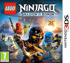 LEGO NINJAGO SHADOW OF RONIN Nintendo 3DS Video Game 3 DS New UK Release Sealed