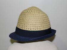 Gymboree Baby Boy Navy Blue Paper Straw Sun Hat NWT Size 2T-3T